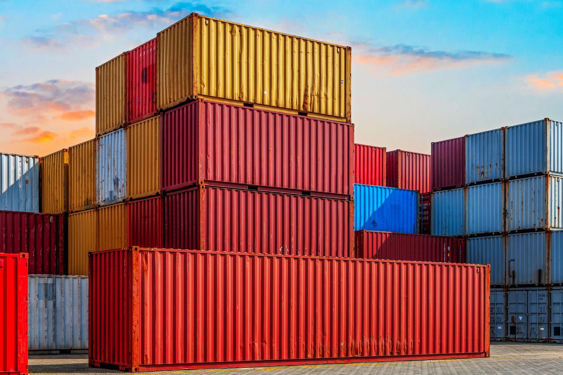 Principal recomendación para importar o exportar
