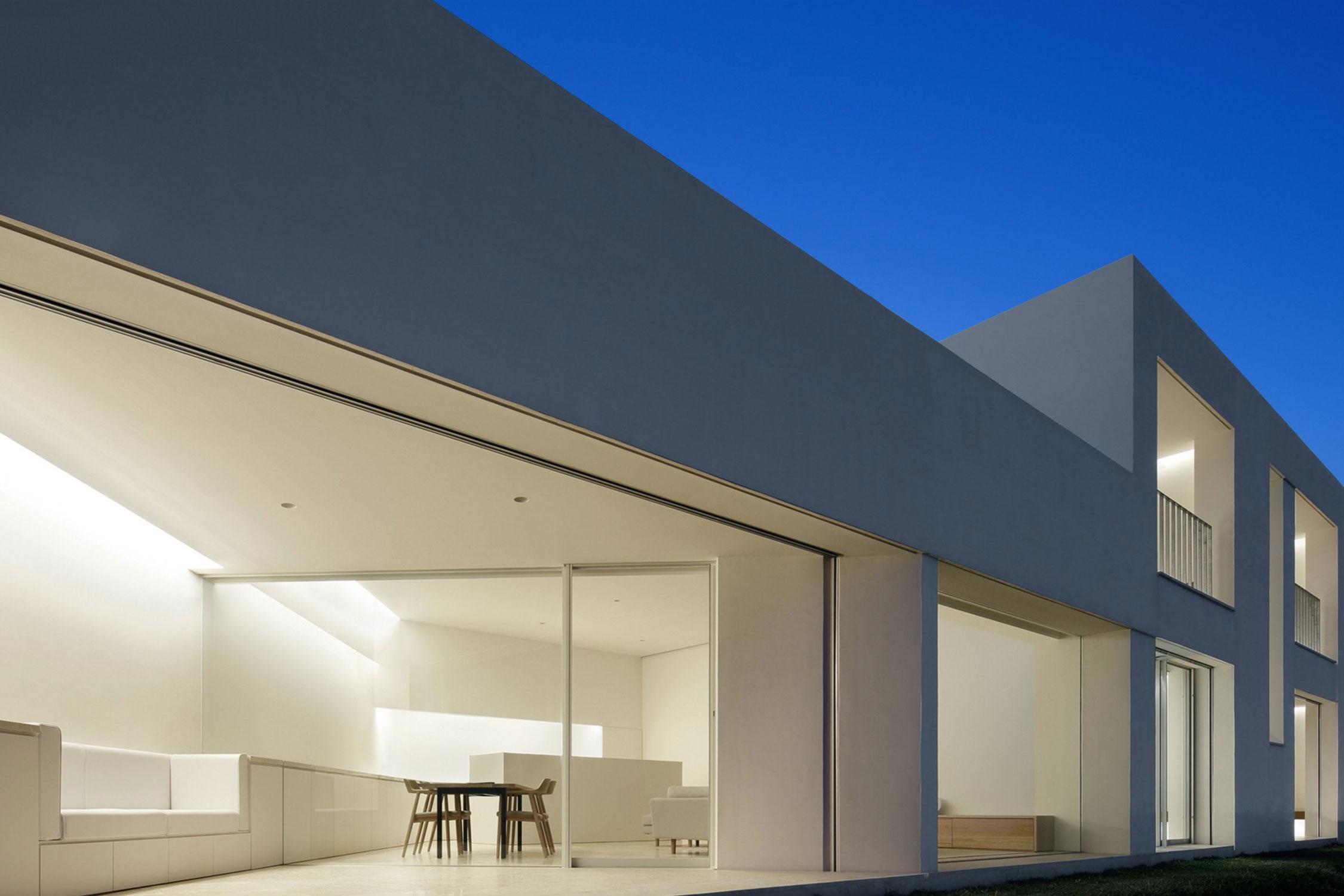 ¡En arquitectura minimalista, menos es más!