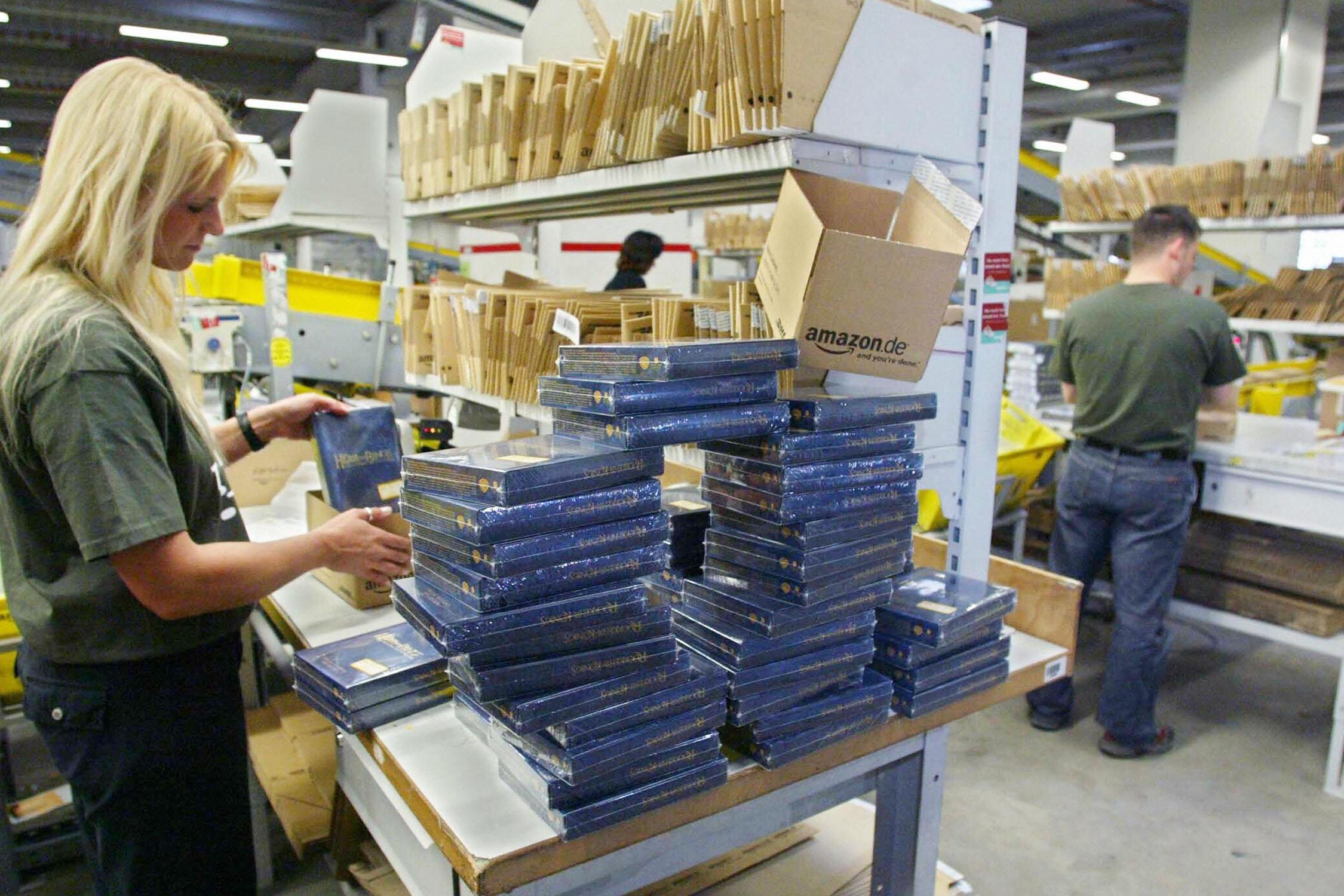 Amazon líder mundial en e-commerce