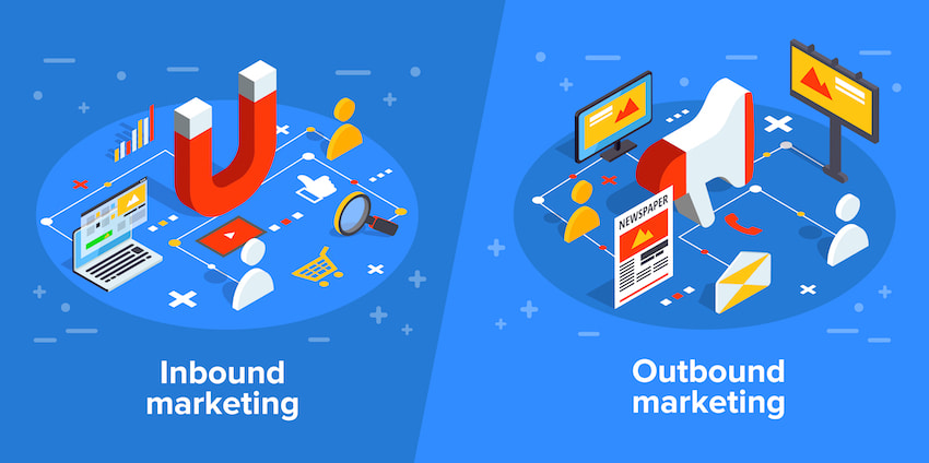 Outbound e Inbound Marketing buscan captar consumidores